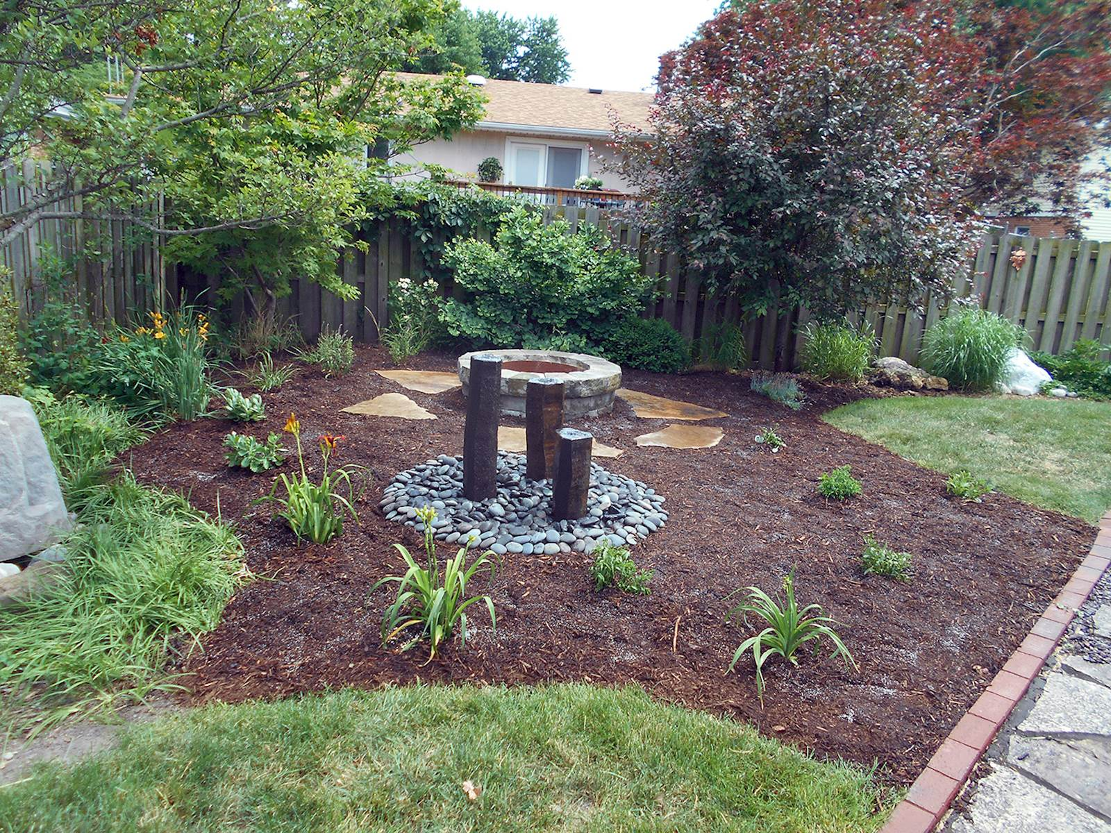 backyard hardscapes