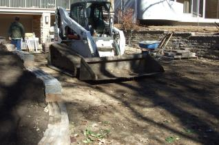 Brand New Retaining Walls